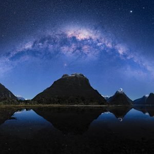 The Milky Way, Milford Sound